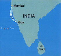 Star Cruises SuperStar Libra, 1 night Cruise from Goa to Mumbai