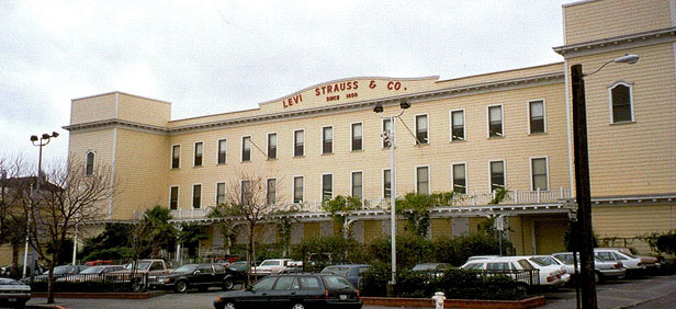 Levis Strauss Factory Levis Strauss Factory In San