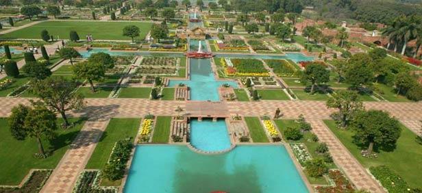 Mughal Garden Opening Date 2017