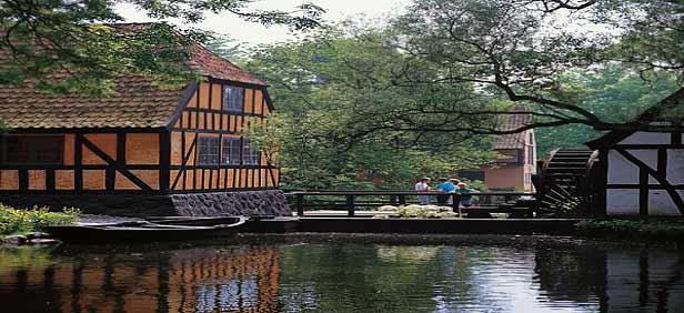 Watermill in Aarhus, Denmark