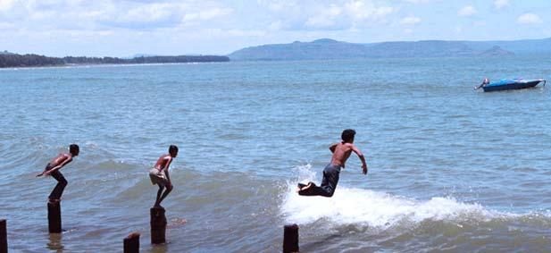 Alibag Beach in India