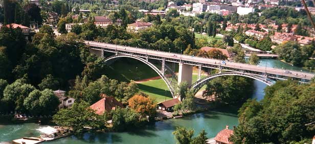 bern tourist information. Bern city bridge, Switzerland