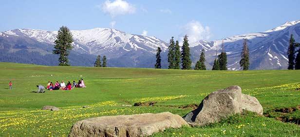 Image result for gulmarg kashmir in summer