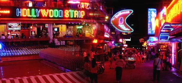 Nightlife in Bangkok, Thailand