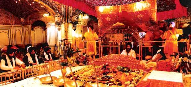 Rumala Sahib in Golden Temple