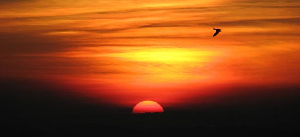 Sunrise at Aizawl