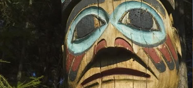 Totem Pole in Alsaka, United States of America