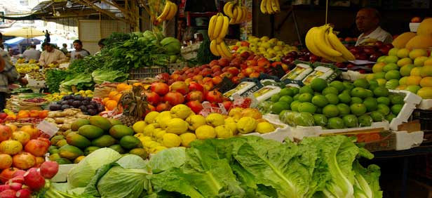 Vegetable and Fruits Souq in Amman