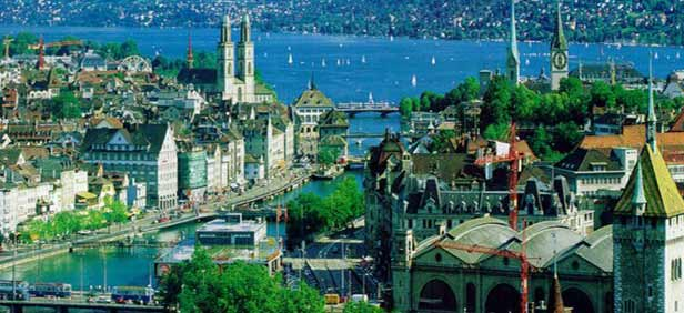 Zurich City Zurich Tourism Zurich Travel Guide – Zurich Tourist Map