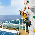 Rock Climbing on Cruise
