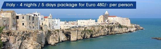 Italy Tour Package